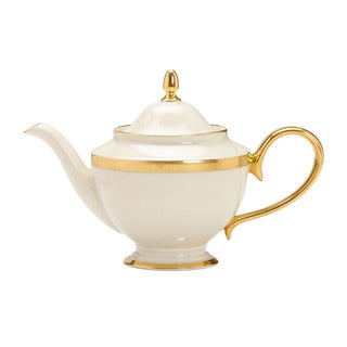 Lenox Lowell 24k Gold Accent Teapot