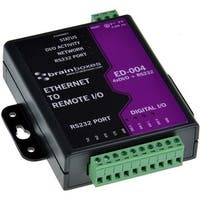 Brainboxes Ethernet to 4 Digital IO and RS232 Serial Port