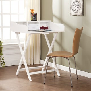 Shop Upton Home Marion White Folding Craft Student Desk
