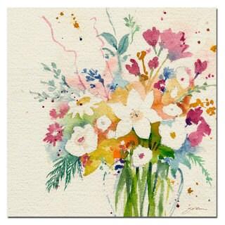 Sheila Golden 'Dream Bouquet' Canvas Art