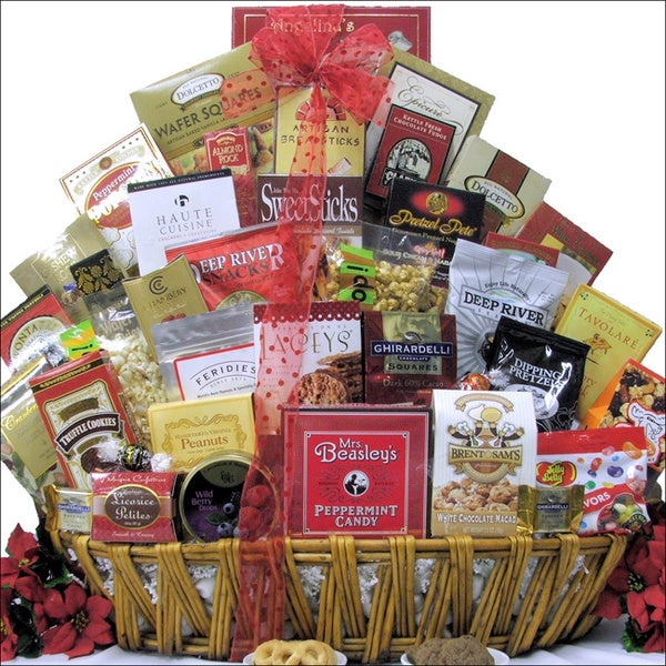 Great Arrivals Magnificent Holiday Munchies Gourmet Gift Basket