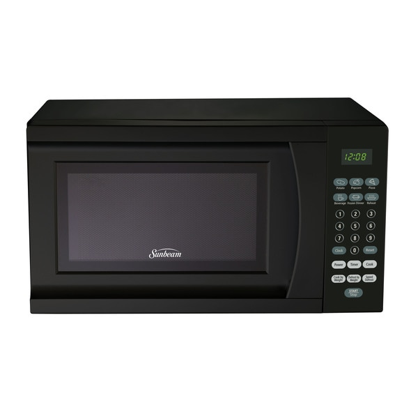 Sunbeam SGS90701B-B Black 0.7-Cubic Foot Microwave Oven