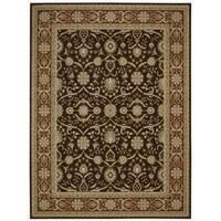 Nourison Persian Crown Dark Brown Rug (3'9 x 5'9) - 3'9 x 5'9