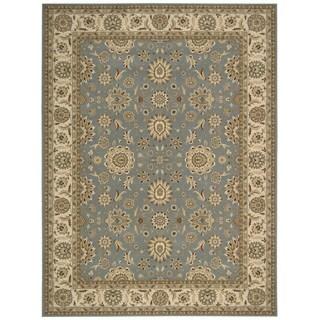 Nourison Persian Crown Blue Area Rug (3'9 x 5'9)