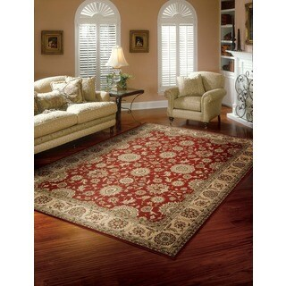 Nourison Persian Crown Red Area Rug (3'9 x 5'9)
