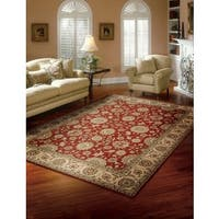 Nourison Persian Crown Red Area Rug - 3'9 x 5'9