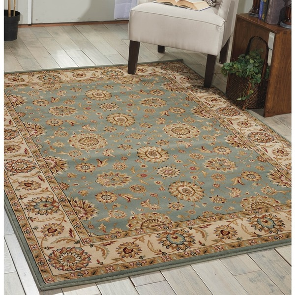 Nourison Persian Crown Blue Area Rug - 5'3 x 7'4