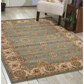 Nourison Persian Crown Blue Area Rug (5'3 x 7'4)