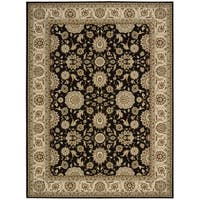 "Nourison Persian Crown Black Rug - 3'9"" x 5'9"""
