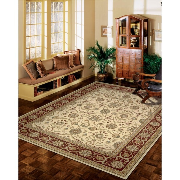 Nourison Persian Crown Cream Rug (5'3 x 7'4) - 5'3 x 7'4