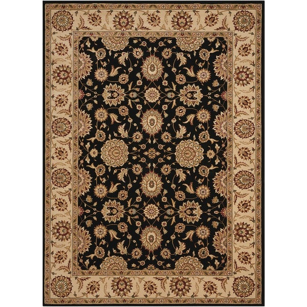 "Nourison Persian Crown Black Rug (1' - 1'11"" x 2'11"""