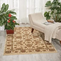 Nourison Persian Crown Ivory Rug - 3'9 x 5'9