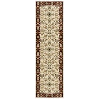 Nourison Persian Crown Cream Rug Runner (2'2 x 7'6)