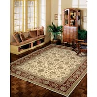 Nourison Persian Crown Cream Rug - 7'10 x 10'6