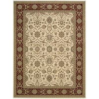 Nourison Persian Crown Cream Rug - 9'3 x 12'9