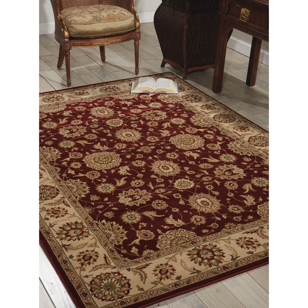 Nourison Persian Crown Red Rug (9'3 x 12'9) - 9'3 x 12'9