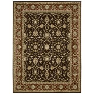 Nourison Persian Crown Dark Brown Rug (1'11 x 2'11)