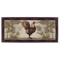 """Tall Rooster Accent Rug - 1'8"""" x 3'8"""""""