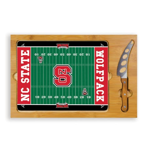 Picnic Time North Carolina State Wolfpack Icon Cheese Tray