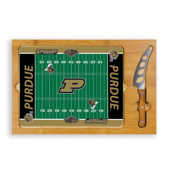 Picnic Time Purdue University Boilermakers Icon Cheese Tray