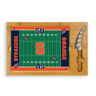 Picnic Time Syracuse University Otto Orange Icon Cheese Tray