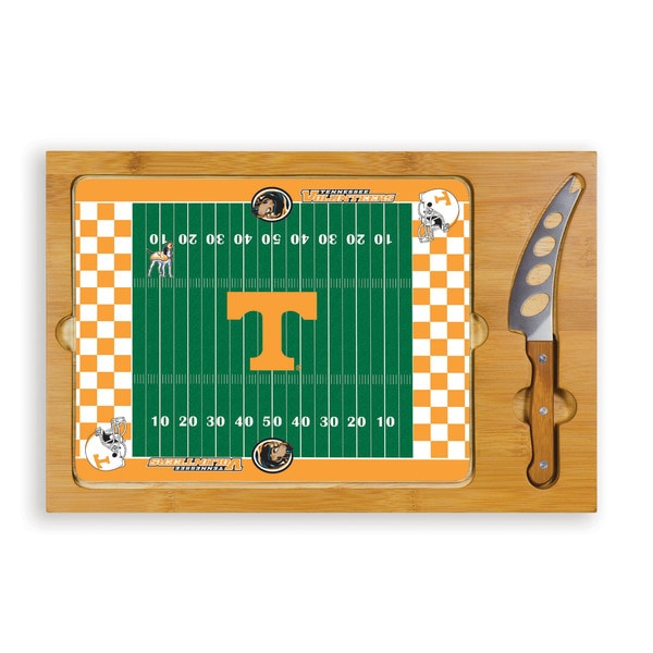 University of Tennessee Volunteers Icon Cheese Tray - Brown