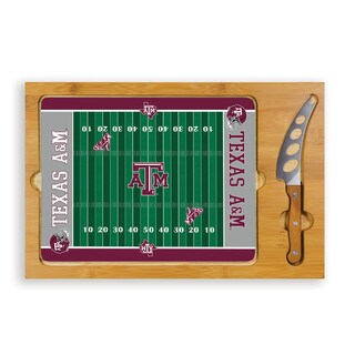 Picnic Time Texas A&M University Aggies Icon Cheese Tray