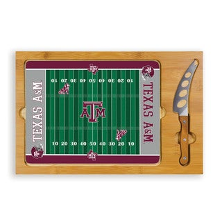 Picnic Time Texas A&M University Aggies Icon Cheese Tray