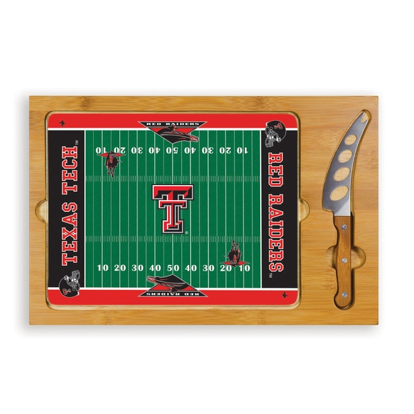 Picnic Time Texas Tech University Red Raiders Icon Cheese Tray