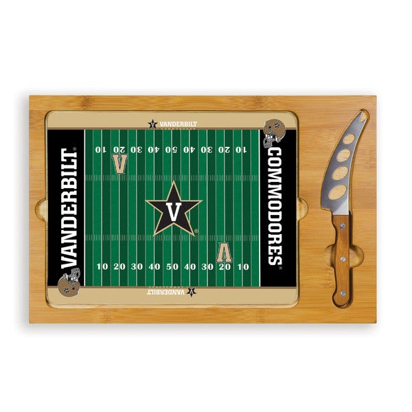 Vanderbilt University Commodores Icon Cheese Tray - Brown