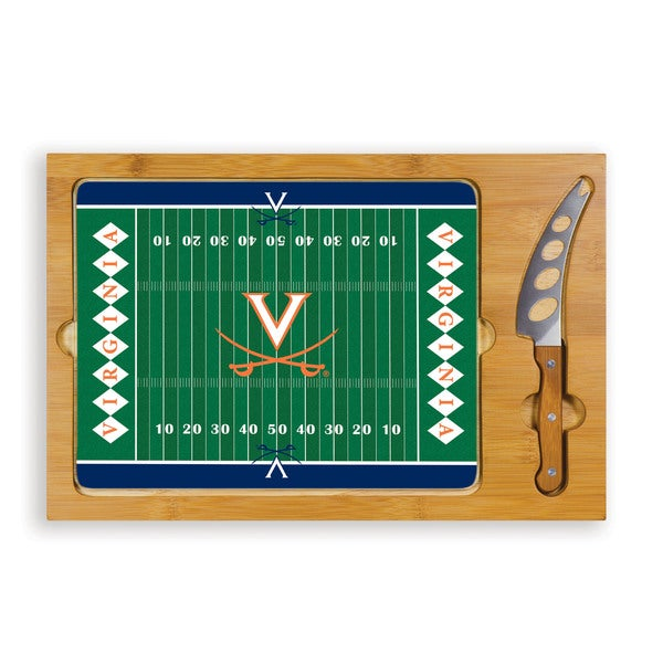 University of Virginia Cavaliers Icon Cheese Tray - Brown