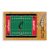 Picnic Time University of Cincinnati Bearcats Icon Cheese Tray - Brown