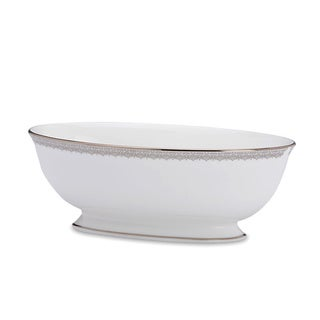 Lenox 'Lace Couture' 9.5-inch Open Vegetable Bowl
