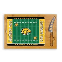 University of Southern Mississippi Golden Eagles Icon Cheese Tray - Brown