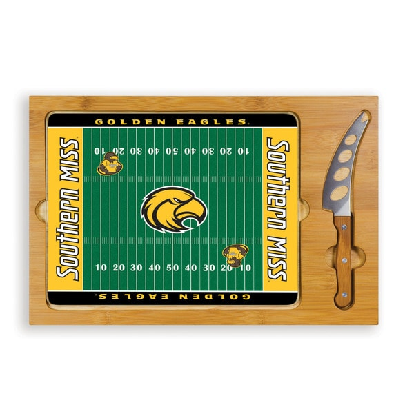 University of Southern Mississippi Golden Eagles Icon Cheese Tray