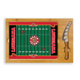 Picnic Time University of Louisiana at Lafayette Ragin' Cajuns Icon Cheese Tray