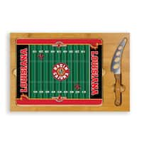 Picnic Time University of Louisiana at Lafayette Ragin' Cajuns Icon Cheese Tray - Brown