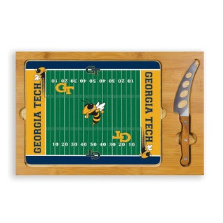 Georgia Tech University Yellow Jackets Icon Cheese Tray