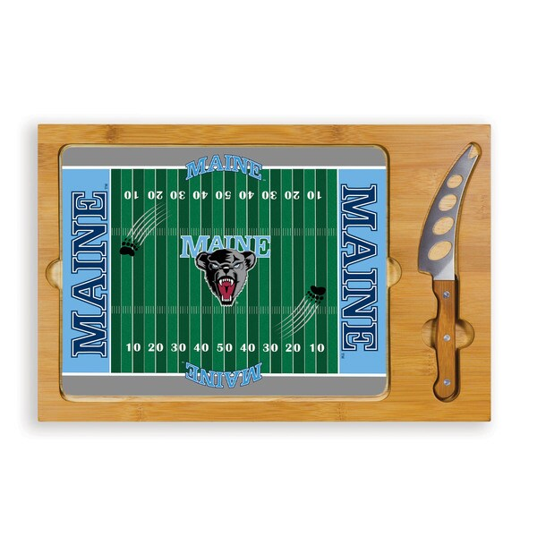 Picnic Time University of Maine Black Bears Icon Cheese Tray
