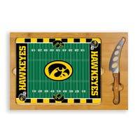 Picnic Time Iowa State University Cyclones Icon Cheese Tray - Brown