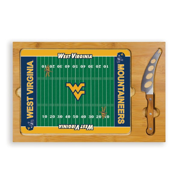 West Virginia University Mountaineers Icon Cheese Tray
