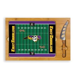 Picnic Time East Carolina University Jolly Roger Icon Cheese Tray