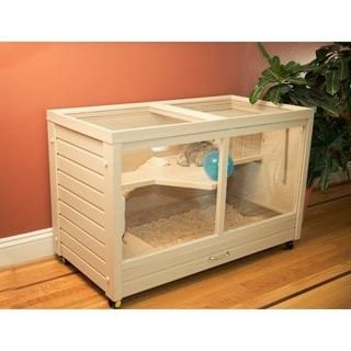 Link to ecoFLEX Park Avenue Indoor Bunny Small Animal Hutch Similar Items in Dog Houses & Pens
