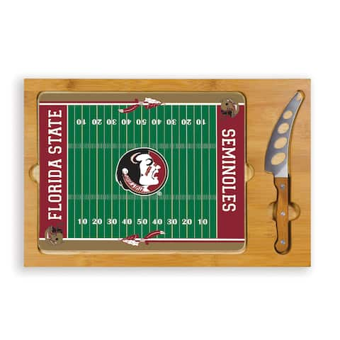 Picnic Time Florida State University Seminoles Icon Cheese Tray - Brown