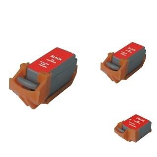 INSTEN 3-ink Black/ Color Cartridge Set for Canon BCI-11B