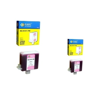 INSTEN 2-ink Cartridge Set for Canon BCI-1411PM