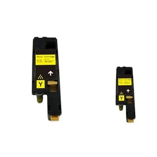 INSTEN 2-ink Yellow Cartridge Set for Dell 1250/ 1350