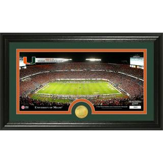 University of Miami Stadium Bronze Coin Panoramic Photo Mint