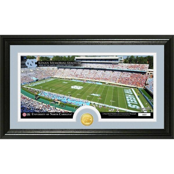 University of North Carolina Stadium Bronze Coin Panoramic Photo Mint