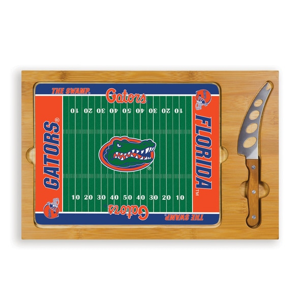 Picnic Time University of Florida Gators Icon Cheese Tray